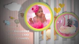 Download Birth Announcement - Happy Birthday Photo Album and Baby shower invitation:: After effects Video