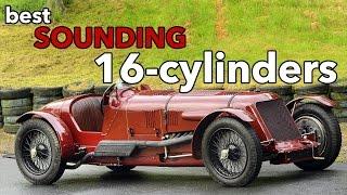 Download 10 Best Sounding 16-Cylinder Engines Video