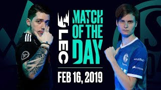 Download #LEC Match of the Day | Vitality vs Schalke | Saturday 16th Video
