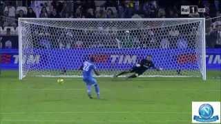 Download Supercoppa Italiana 2014 - Juventus-Napoli 2-2 (7-8) - Immagini RAI HD - Sintesi e Rigori Video