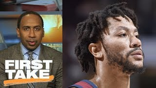 Download Stephen A. Smith: Cavaliers shouldn't want Derrick Rose back on team | First Take | ESPN Video