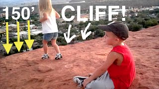 Download LITTLE GIRL GETS CLOSE TO THE EDGE! Video