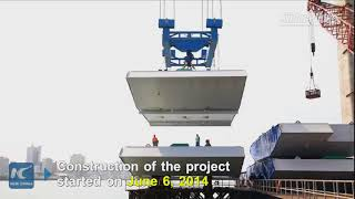 Download Chinese-built bridge to open to traffic in Mozambique Video