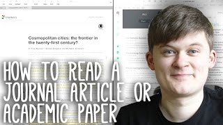 Download Essay Tips: How to Read, Take Notes On and Understand Journal Articles and Academic Papers Video