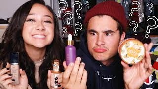 Download GUESSING MAKEUP PRICES CHALLENGE w/ KIAN LAWLEY !! Video