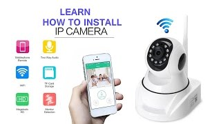 Download ip camera installation and configuration wificare h on mobile in a best & easy way Video