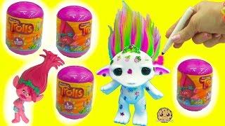 Download Maker Color + Design A Rainbow Hair Zelf + Trolls Movie Surprise Blind Bags Video