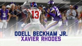 Download Odell Beckham Jr. Held to Worst Career Game by Xavier Rhodes | NFL Wk 4 Player Highlights Video
