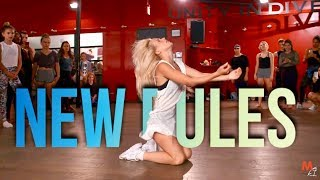 Download DUA LIPA - NEW RULES | Choreography by @NikaKljun Video