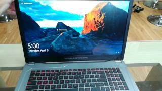 Download Trên tay nhanh ASUS GL702VM - Màn hình 17,3-inch, IPS, 120Hz Video