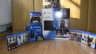 Download PS4 1TB + extras My first unboxing Video