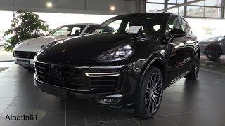 Download Porsche Cayenne TURBO S 2017 Start Up, In Depth Review Interior Exterior Video