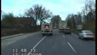 Download Tűzoltók vonulása az M5-ös és M43-as autópályák csomópontjába - 2008. november 17. Video
