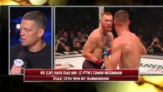 Download Nate Diaz discusses win over Conor McGregor (WARNING: Explicit Content) Video
