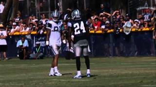Download Terrance Williams and Morris Claiborne get heated Video