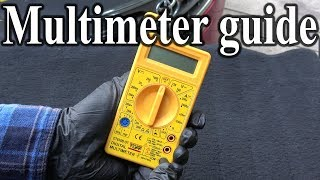 Download How to Use a MULTIMETER - Beginners Guide (Measuring Volts, resistance, continuity & Amps) Video