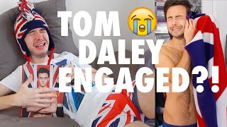 Download GAY BOYS REACT // TOM DALEY ENGAGEMENT!? Video