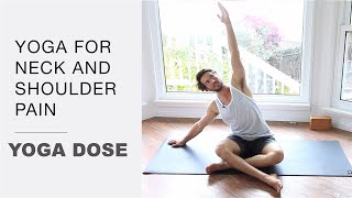 Download Yoga for neck and shoulder pain Video