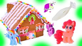 Download My Little Pony Rainbow Candy Gingerbread Christmas Cookie House Craft Video Video
