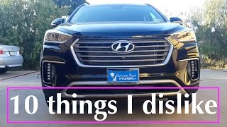 Download 2017 / 2018 Hyundai Santa Fe Review - 10 things I hate about the car Video
