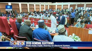 Download INEC Chairman, Others Attend NASS Public Hearing On Vote Buying Pt.2 10/12/18  News@10  Video