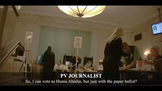 Download Undercover Journalist in Full Burka Is Offered Huma Abedin's Ballot Video