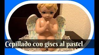 Download Pinta cerámica: Ángel con técnica de cepillado en colores pastel Video