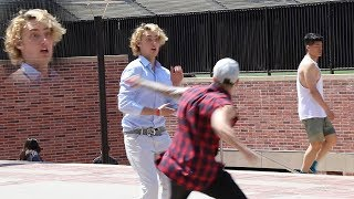 Download Punching Scare Prank in College! Part 1 (FANS MEET & GREET) Video