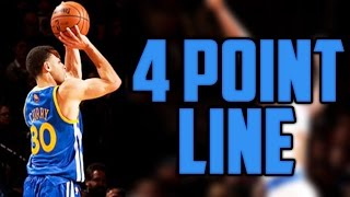 Download WHAT IF THE NBA ADDED A 4 POINT LINE? Video