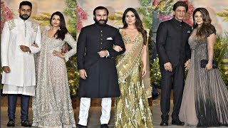 Download Bollywood Couples At Sonam Kapoor Wedding Reception Video