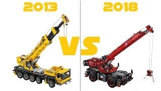 Download LEGO TECHNIC - 42082 Rough Terrain Crane VS 42009 Mobile Crane MK II - COMPARISON Video