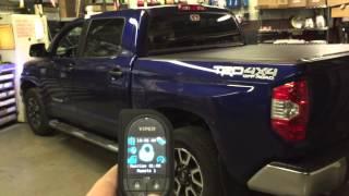 Download Viper 5906V OLED Remote Start on Toyota Tundra Video