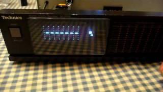 Download Technics Graphic Equalizer Model SH-8046 Video