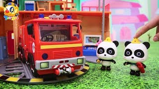 Download Super Panda Rescue Team, Baby Panda's Cooking Competition, Dinosaur Story | Kids Toys Story | ToyBus Video