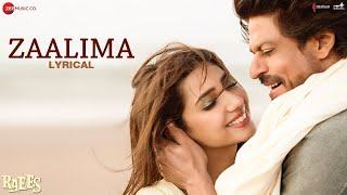 Download Zaalima - Lyrical | Raees | Shah Rukh Khan & Mahira Khan | Arijit Singh & Harshdeep Kaur | JAM8 Video