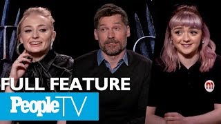Download Game Of Thrones: The Cast On Their Favorite Scenes, First Days & More (FULL) | Entertainment Weekly Video