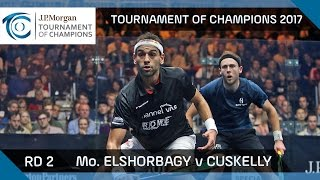 Download Squash: Mo. ElShorbagy v Cuskelly - Tournament of Champions 2017 Rd 2 Highlights Video