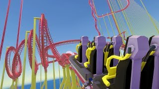Download Built an Impossible 24,753 Foot Long Giga Roller Coaster - Parkitect Video