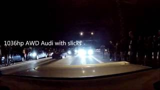 Download 1036hp Audi quattro vs. BMW 325ix AWD turbo Video