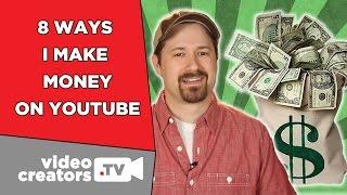 Download 8 Ways I Make Money on YouTube Video