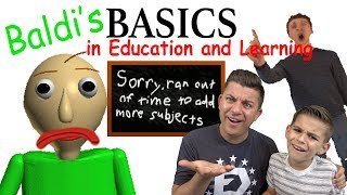 Download Baldi's Basics in Education and Learning (HORROR GAME?!) Edutainment Video