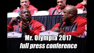 Download Mr. Olympia 2017 - complete press conference HD Video