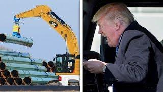 Download Trump Hitting The Gas On Keystone XL Pipeline Video