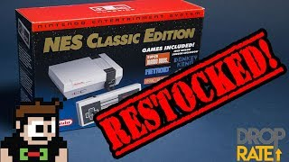 Download NES Classic Restocked?!? Coming Back in 2018! Sorry Scalpers! Video