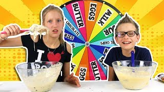 Download MYSTERY WHEEL OF CAKE CHALLENGE!!! Video