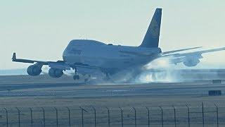 Download Snowy Winter Planespotting - Denver International Airport Video