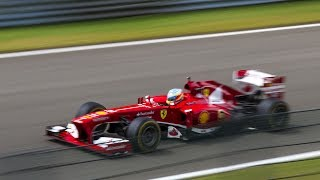 Download Ferrari Corse Clienti 2017 Spa - F1 V10 & V8 sounds + 333 sp Video