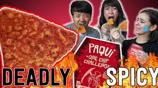 Download Insane SPICIEST CHIP (Carolina Reaper) in The World Challenge Video
