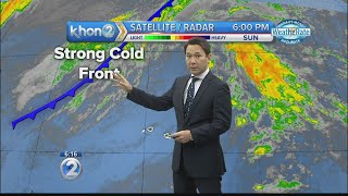 Download KHON2 weather forecast (12/17/2017) Video