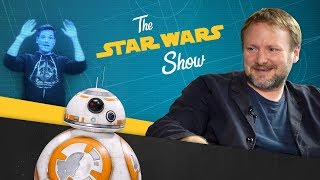 Download The Last Jedi Director Talks With the Director of Hamilton, Making BB-8 Sounds, and More! Video